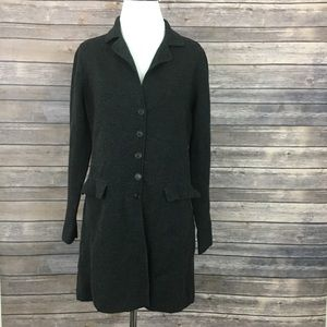 Eileen Fisher Button Front Cardigan